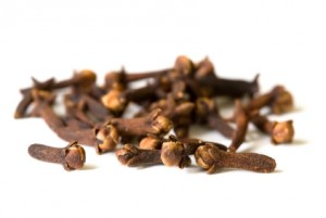spice series - dried cloves on white surface 2