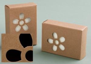 Cutie carton floare