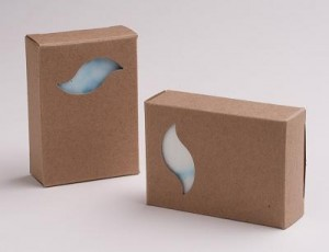 Cutie carton frunza