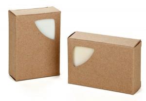 Cutie carton triunghi