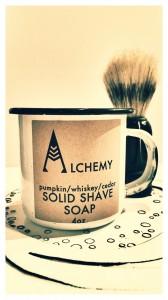 Sapun natural solid pentru barbierit